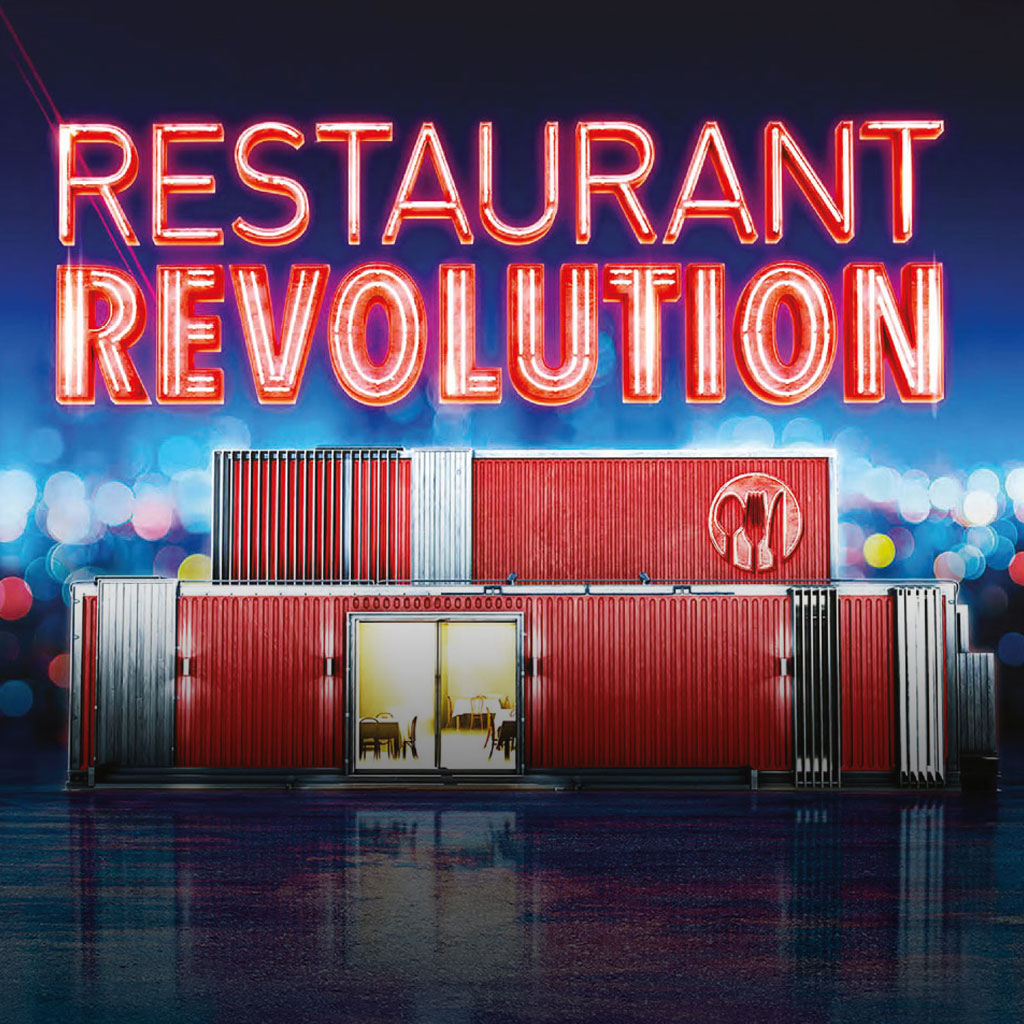 RESTAURANT REVOLUTION / 16x60' / COMPETITION